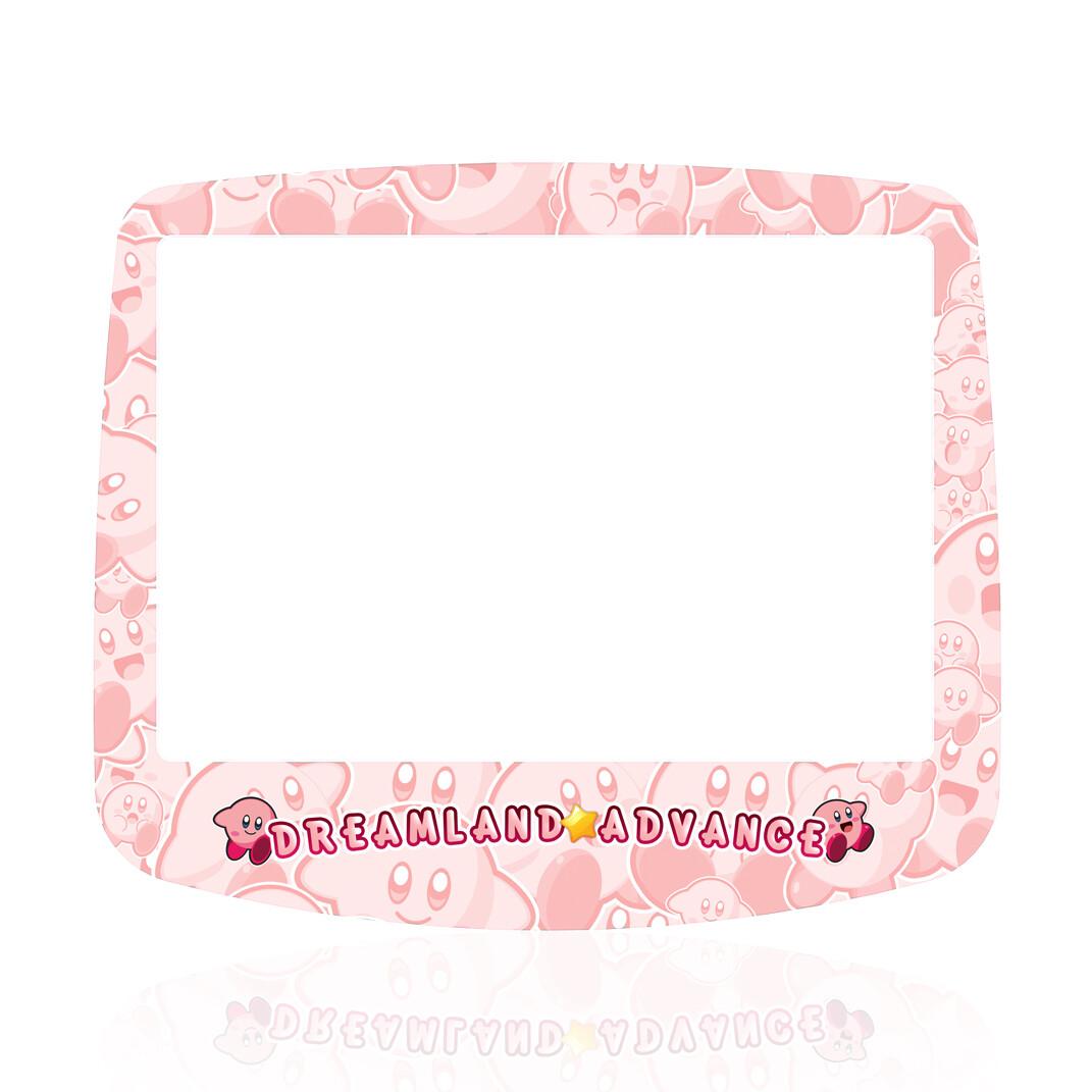 GBA IPS Glass Screen (UV Kirby Light)