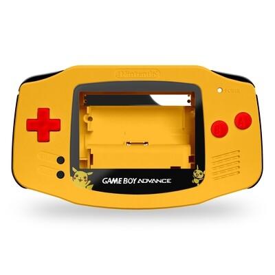 GBA Shell Kit (Pokemon Pikachu Full Kit)