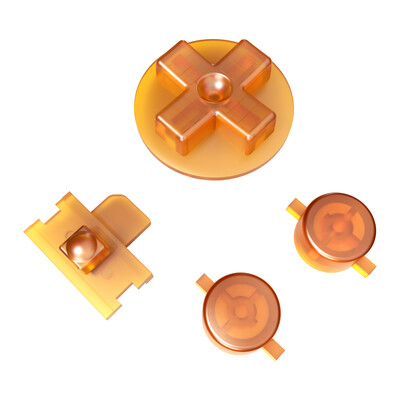 Game Boy Original Buttons (Amber)