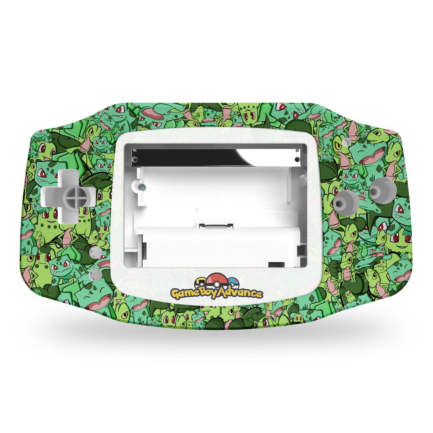 Game Boy Advance Printed Shell (Grass Starters)