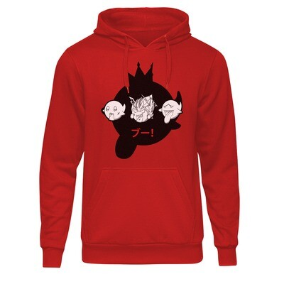 College Hoodie Red (Boo Triple by Roban Arts)