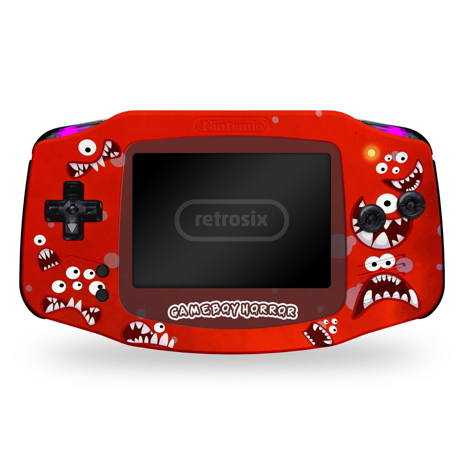 Game Boy Advance: Prestige Edition (Red Horror by GiveAPluck)