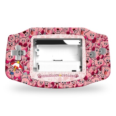 Game Boy Advance Printed Shell (Kirby)