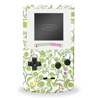 Game Boy Color: Prestige Edition (Yoshi Egg By GiveAPluck)