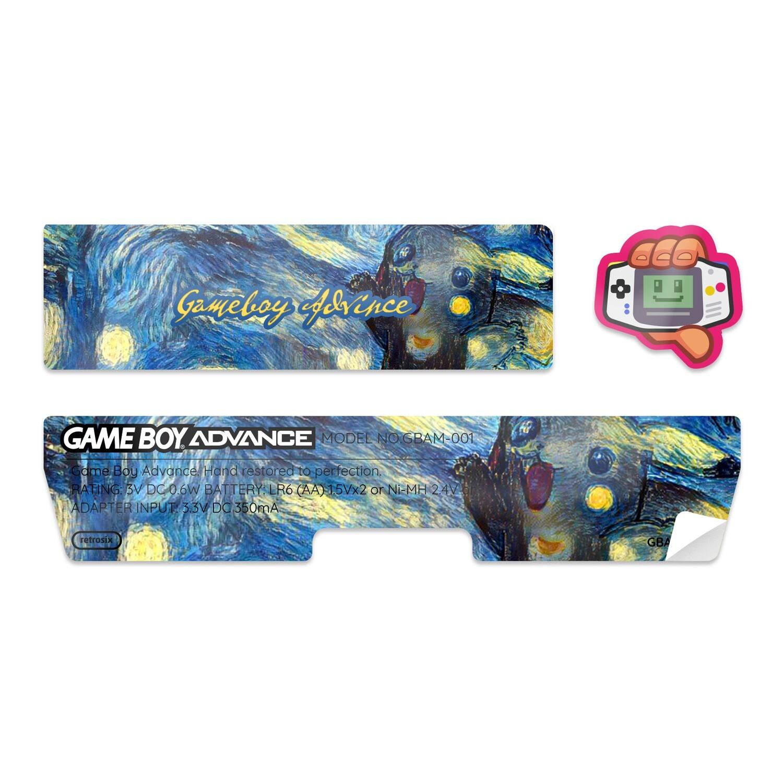 Game Boy Advance Sticker (Picachu by AngelSix)