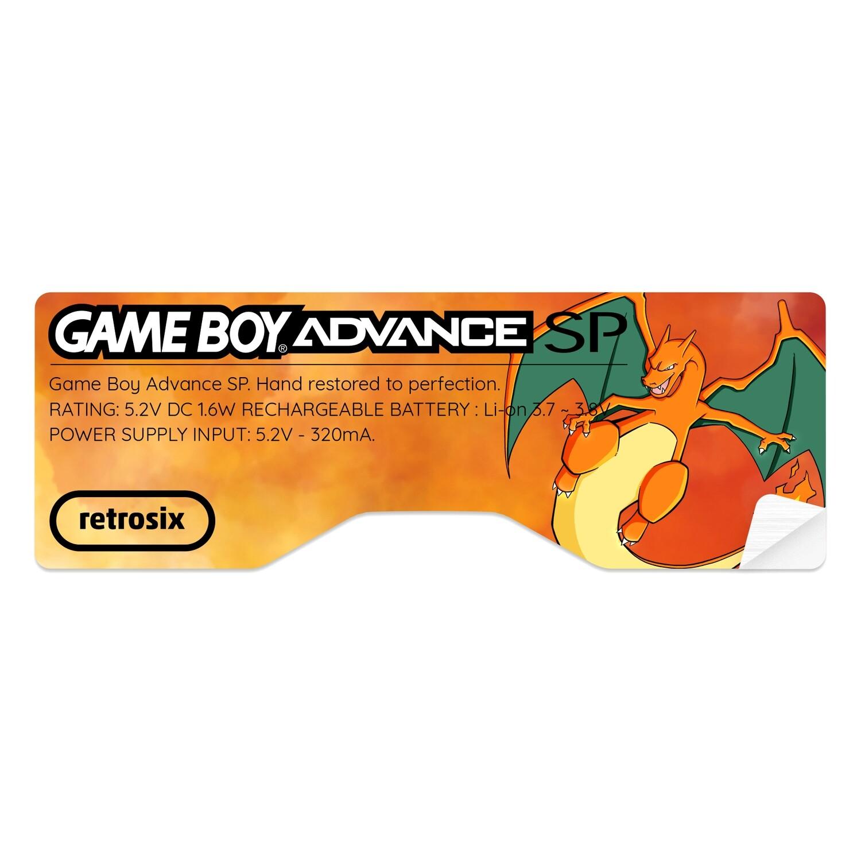 Game Boy Advance SP Sticker (Charizard by JW)