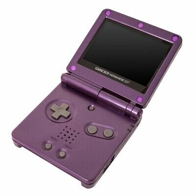 Game Boy Advance SP: Prestige Edition (Mario Purple)