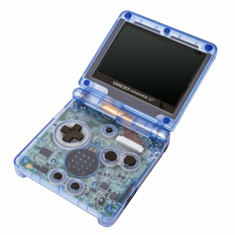Game Boy Advance SP: Prestige Edition (Clear Blue)