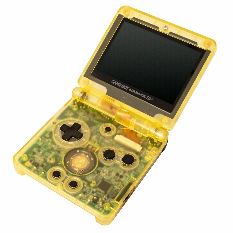 Game Boy Advance SP: Prestige Edition (Clear Yellow)