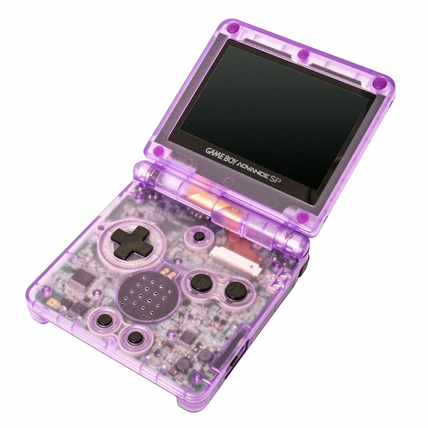 Game Boy Advance SP: Prestige Edition (Clear Purple)