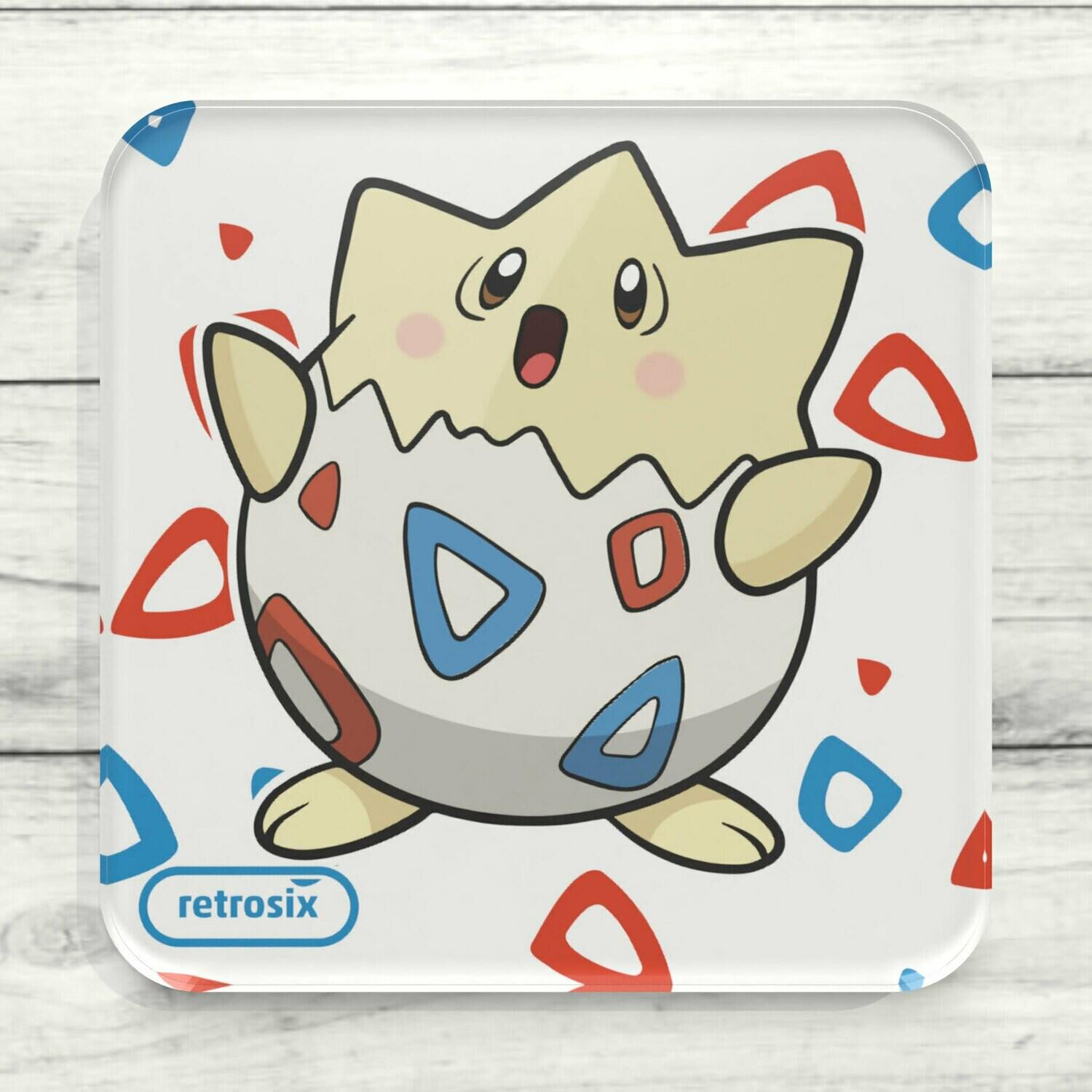 Coaster Acrylic (Togepi by GiveAPluck)