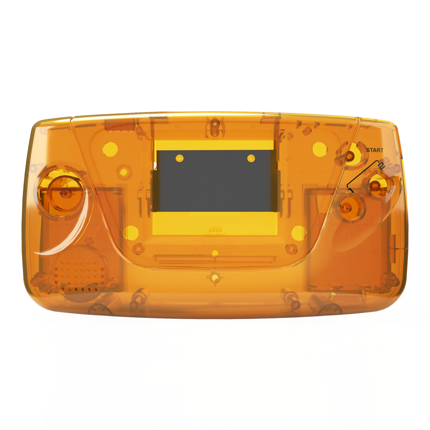 Game Gear Shell Kit (Amber)