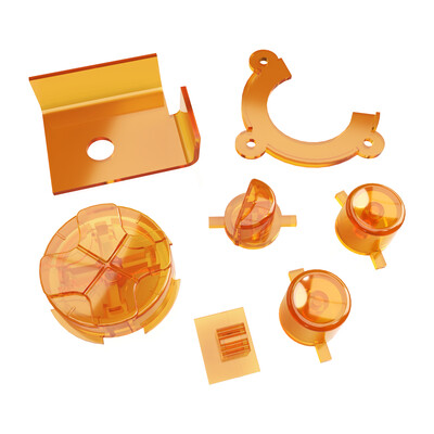 Game Gear Buttons (Amber)