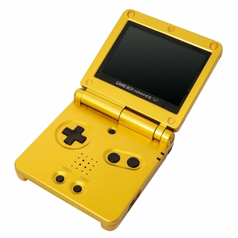 Game Boy Advance SP: Prestige Edition (Majoras Mask Gold)
