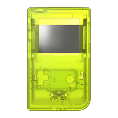 Game Boy Pocket Shell (Clear Yellow)