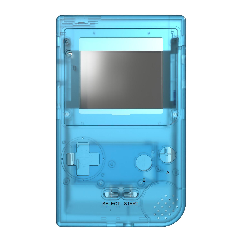 Game Boy Pocket Shell (Clear Blue)
