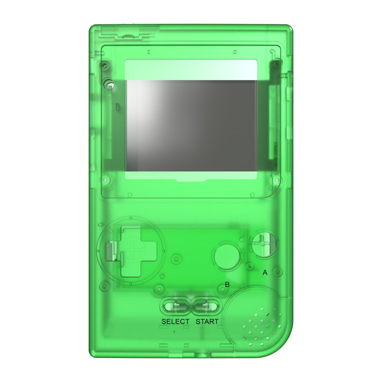 Game Boy Pocket Shell (Clear Green)