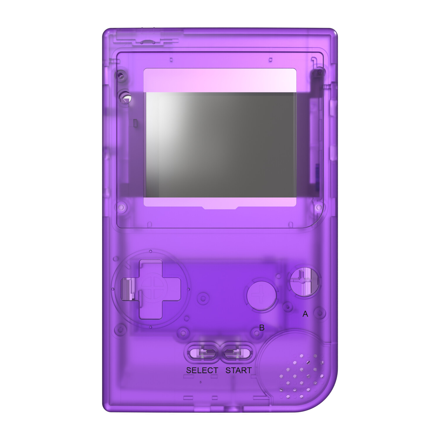 Game Boy Pocket Shell (Clear Purple)