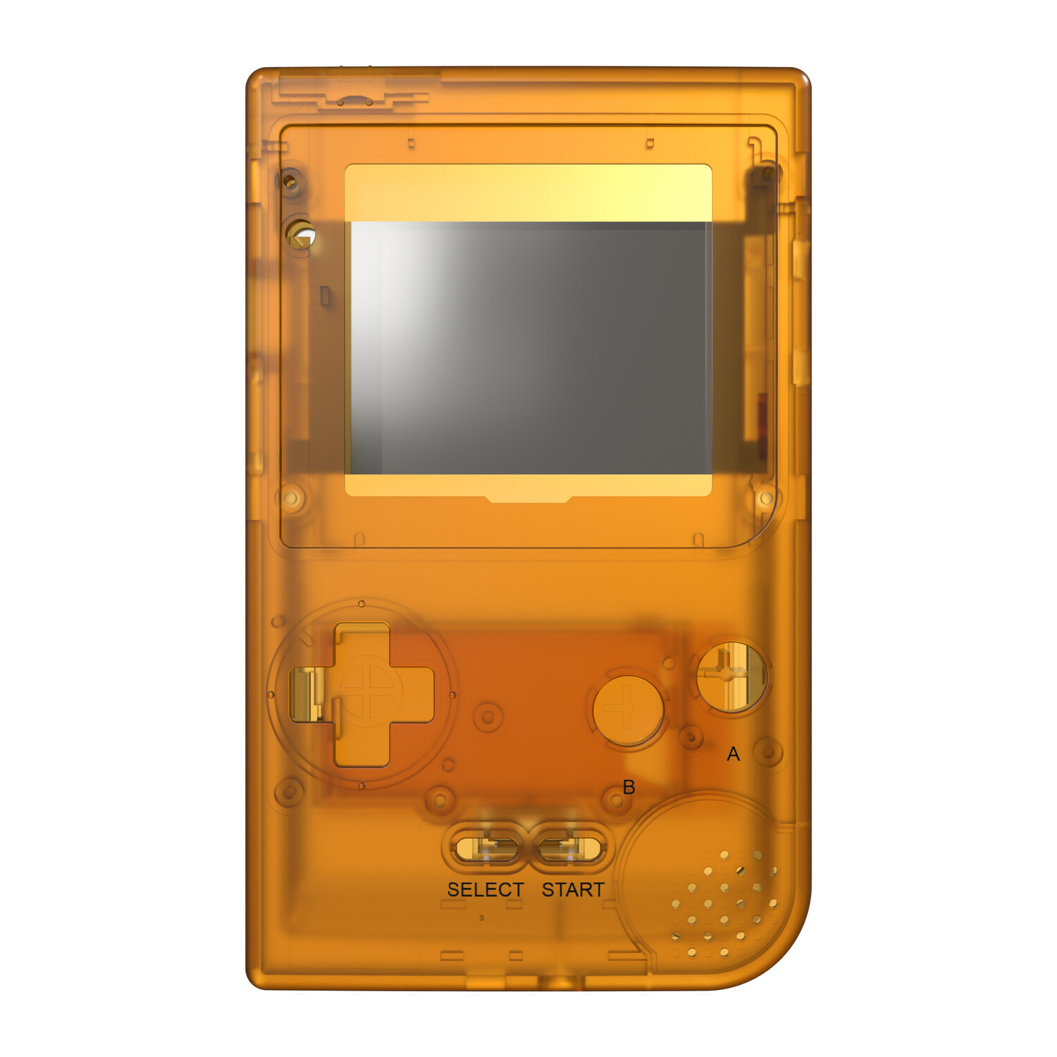 Game Boy Pocket Shell (Amber)