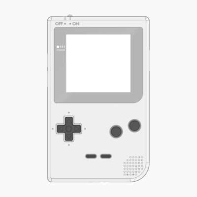 Game Boy Pocket Printed Shell Kit (Design Your Own)