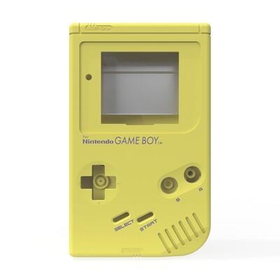 Game Boy Original Shell Kit (Pearl Yellow)