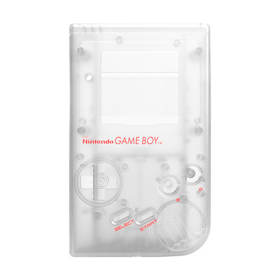 Game Boy Original Shell Kit (Clear)
