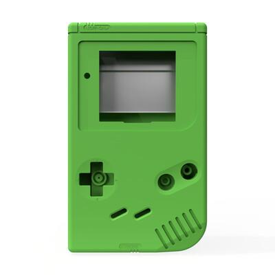 Game Boy Original Shell Kit (Solid Green)