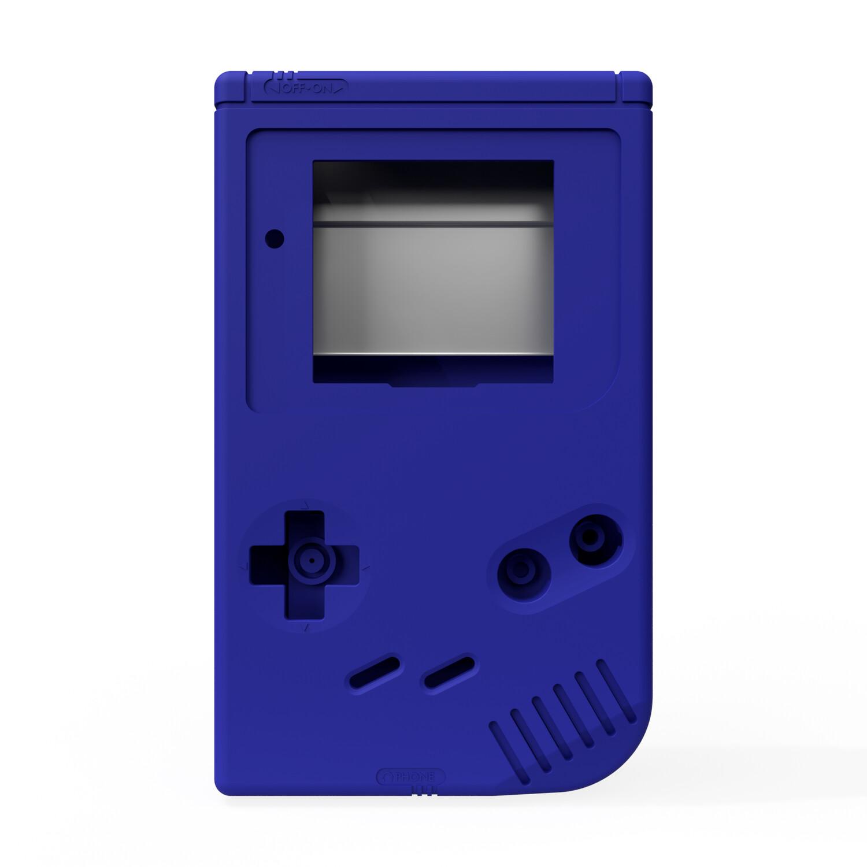 Game Boy Original Shell Kit (Solid Blue)