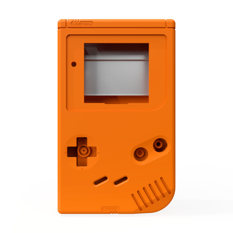 Game Boy Original Shell Kit (Solid Orange)