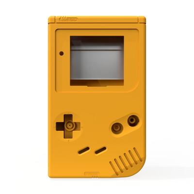Game Boy Original Shell Kit (Solid Yellow)