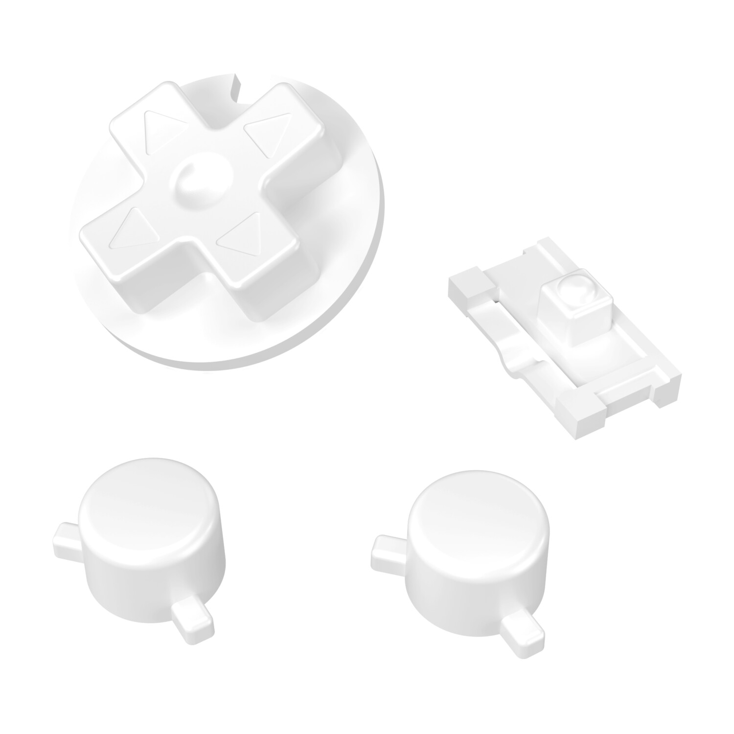 Game Boy Pocket Buttons (Pure White)
