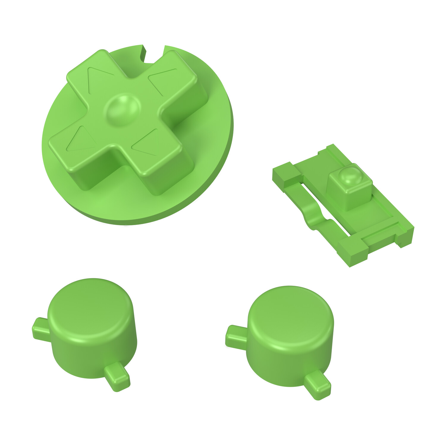 Game Boy Pocket Buttons (Solid Green)