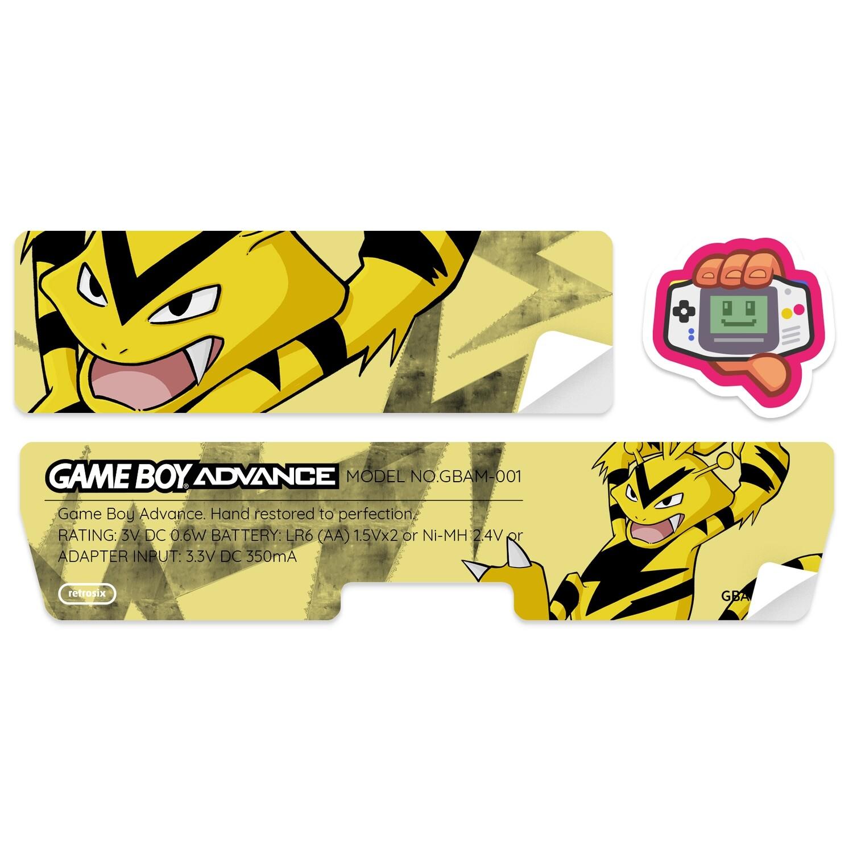 Game Boy Advance Sticker (Electabuzz By JW)