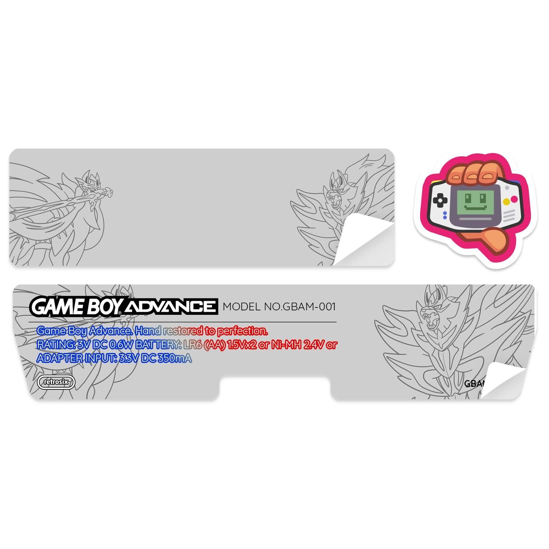 Game Boy Advance Sticker (Zac and Zam by SG)