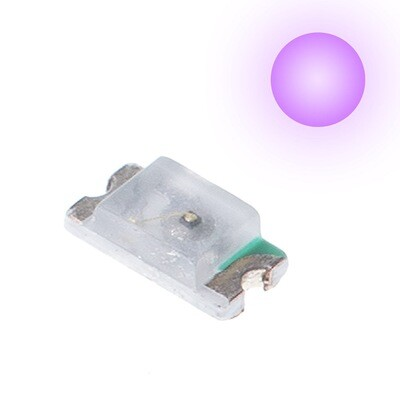 10x 0603 LEDs (Purple)
