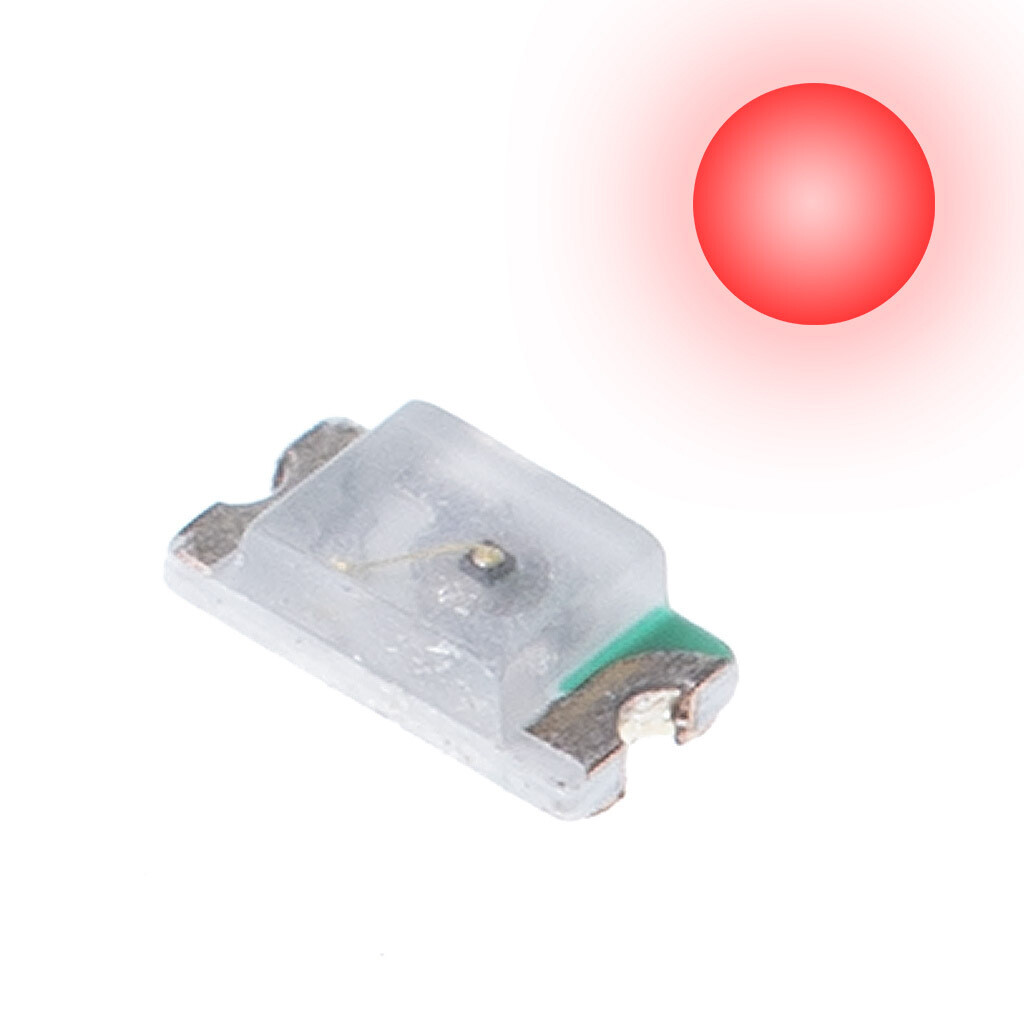 10x 0603 LEDs (Red)