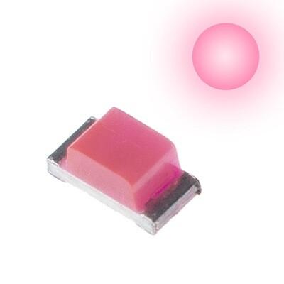 10x 0603 LEDs (Pink)