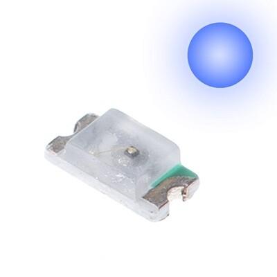10x 0603 LEDs (Blue)