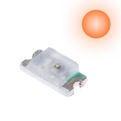 10x 0603 LEDs (Orange)