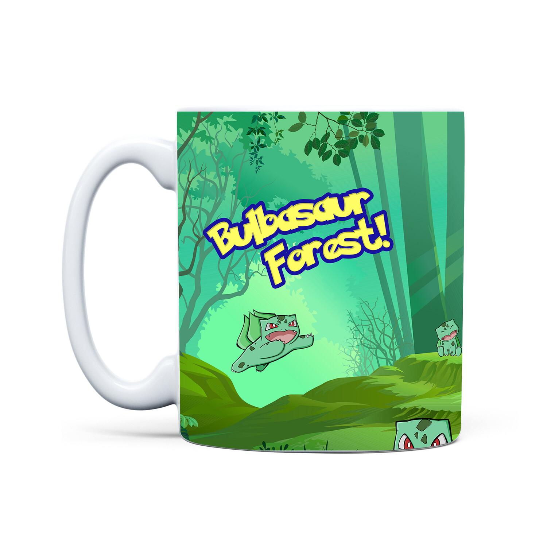 Mug White (Bulbasaur Forest)