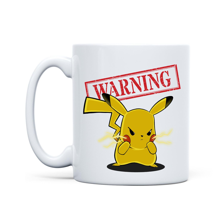 Mug White (Angry Pikachu)
