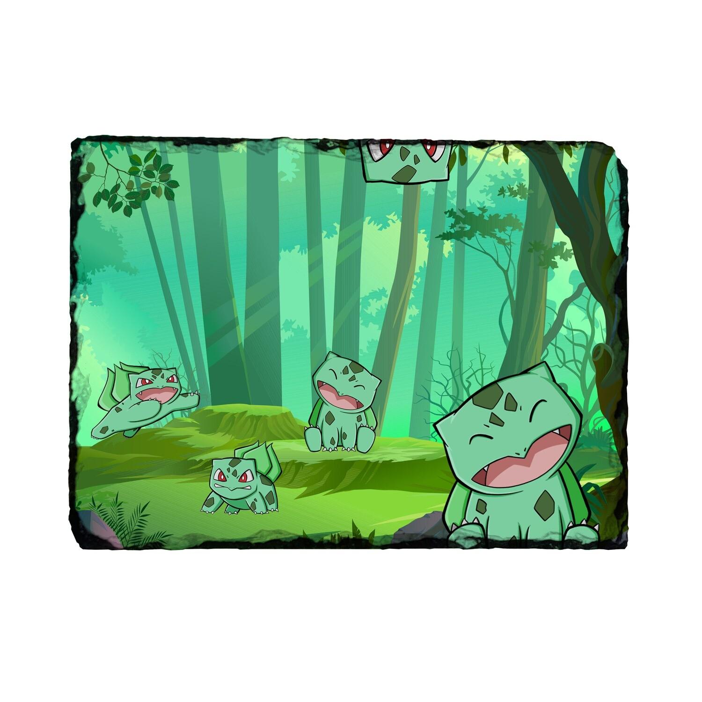 Bulbasaur Forest Photo Slate