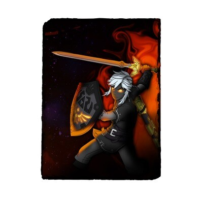 Dark Link Photo Slate