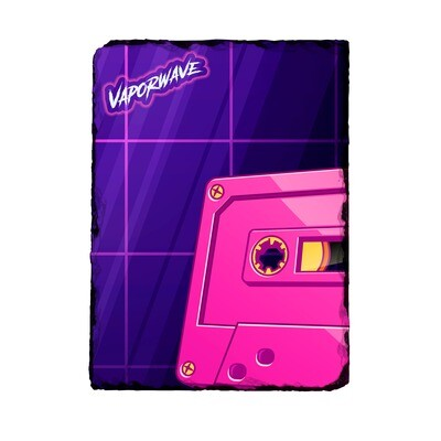 Vaporwave Tape Photo Slate