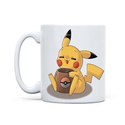 Mug White (Pikachu Coffee)