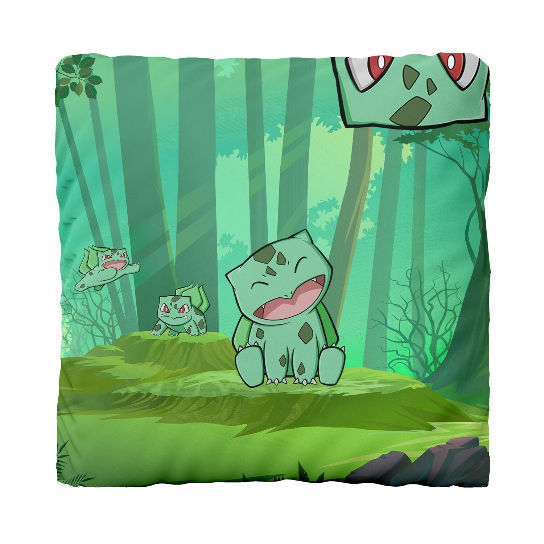 Canvas Cushion (Bulbasaur Forest)