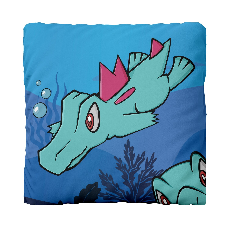Canvas Cushion (Totodile JW)