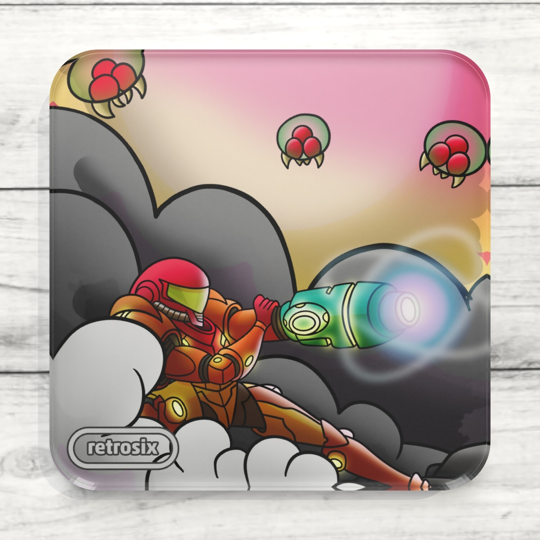 Drinks Coaster (Metroid A)