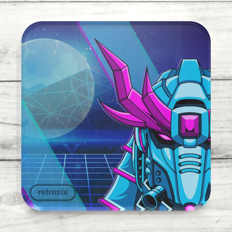 Drinks Coaster (Cyber Samurai)