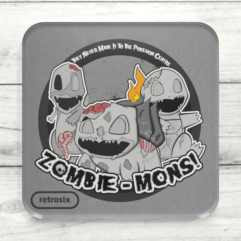 Drinks Coaster (Zombiemons)